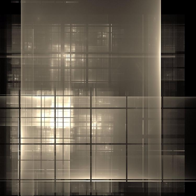 empty windows - digital, fractal - drazenjerkovic | ello