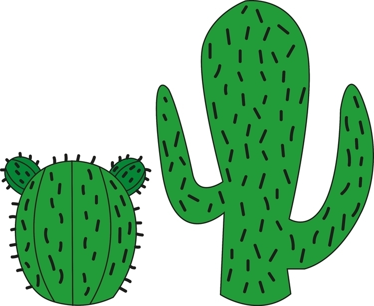 cactus, illustration - destrudo | ello