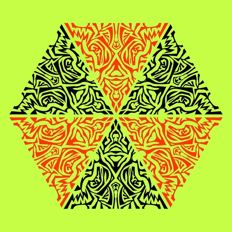 Nº 48 - snowflake, green, hideous - csilverman | ello
