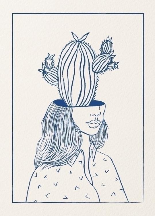 Survivor / ink paper 2017 - illustration - annamariaheinrich   ello