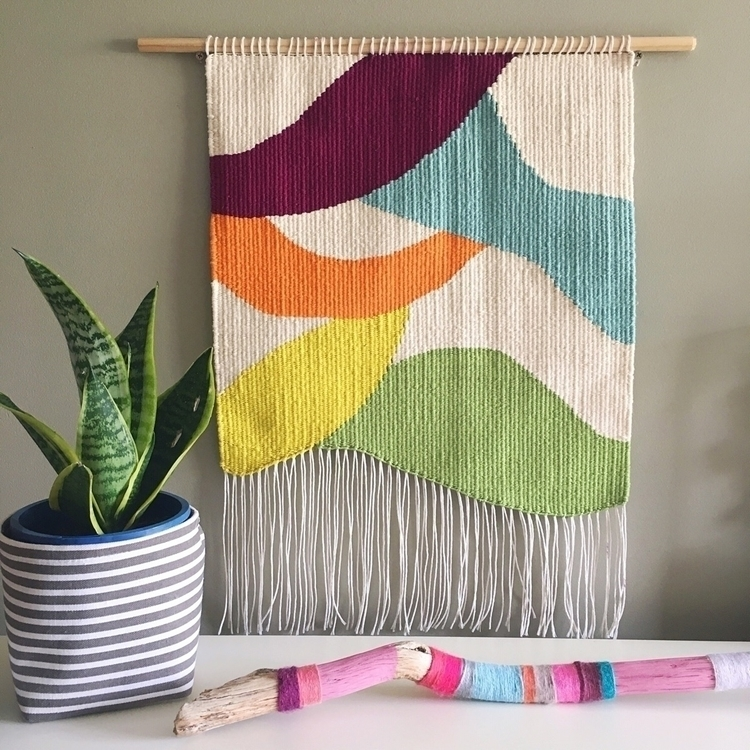 Newest piece - tapestryweaving, tapestry - adaolivehandmade | ello