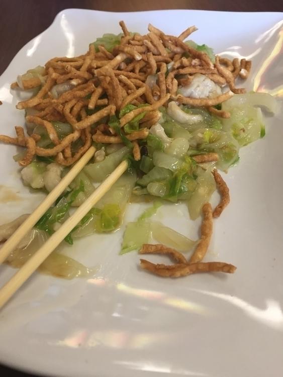 Chow mein lunch today - vegabond | ello