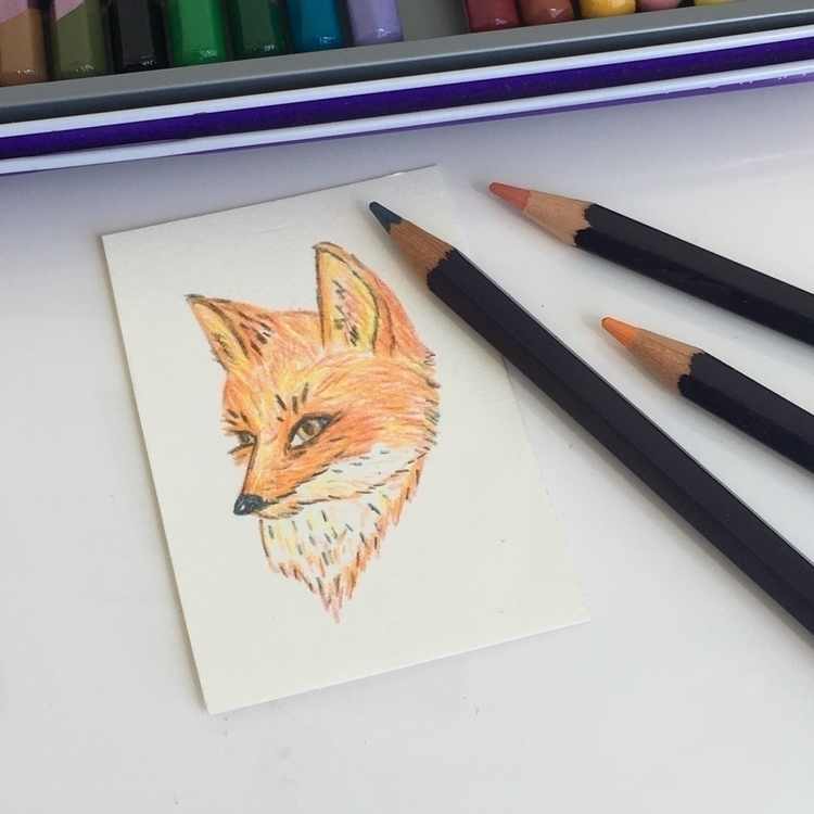 tiny fox art commission 🦊 :heav - chenreichert | ello