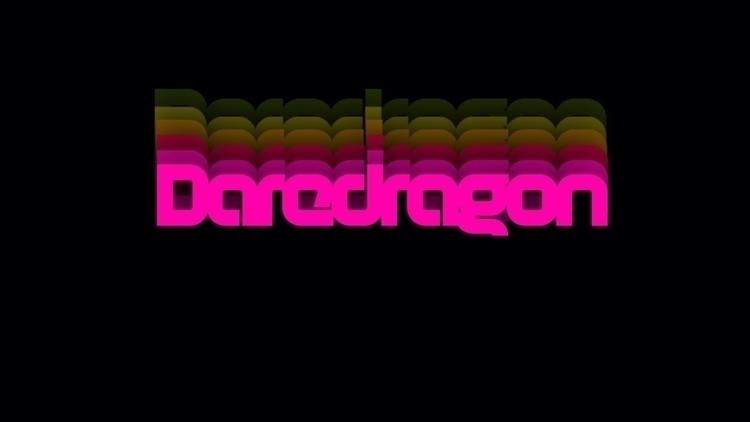 Logodesign music project - daredragonmusic   ello