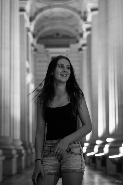 laugh - urban, architecture, girl - jakebrooke | ello
