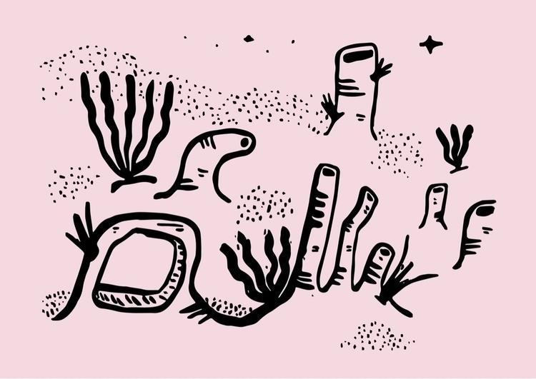 section Zakki valley - doodle, illustration - dsmoore   ello