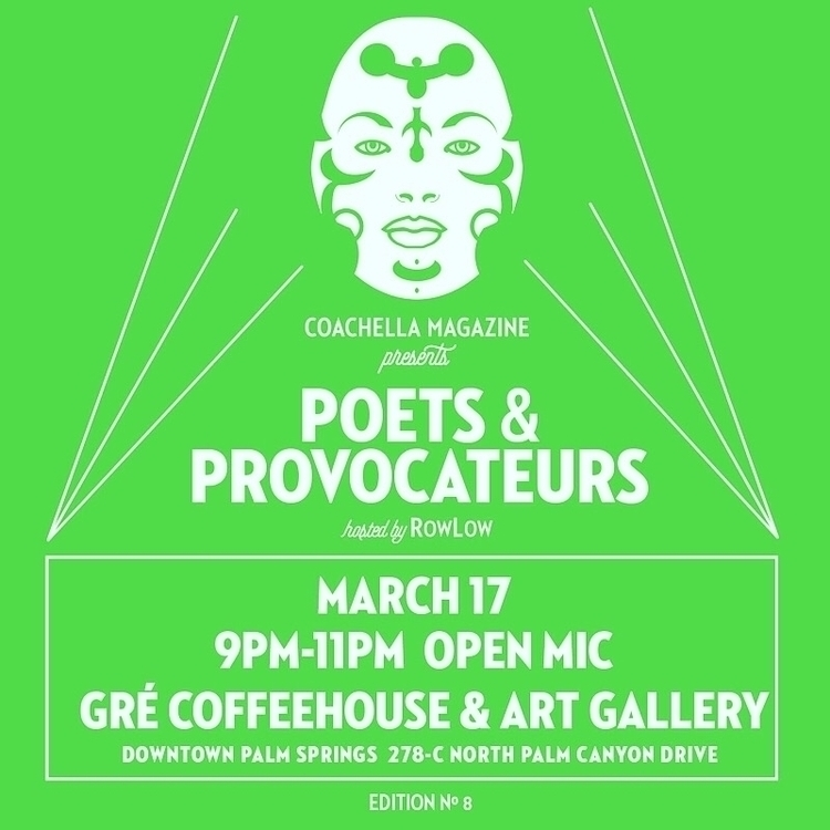 presents POETS PROVOCATEURS hos - rowlow | ello