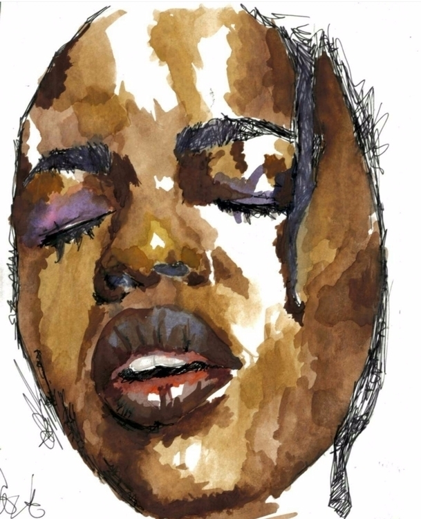 Lauryn Watercolour paper - laurynhill - anahnomous | ello
