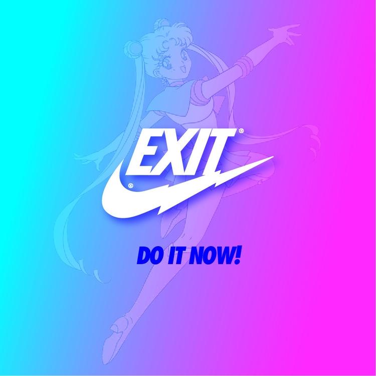 exit, vaporwave, doitnow, marbloid - gaschka   ello