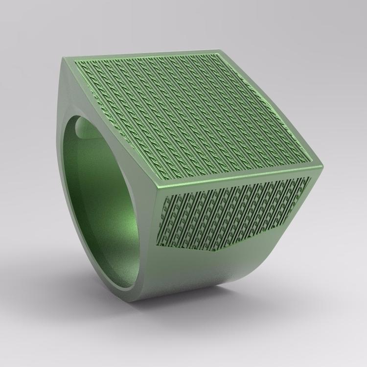 ring design - jewelry, 3D - koshman | ello
