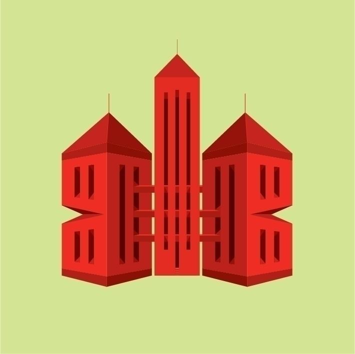 Digital Print Serie Edificios - 2 - zisky   ello