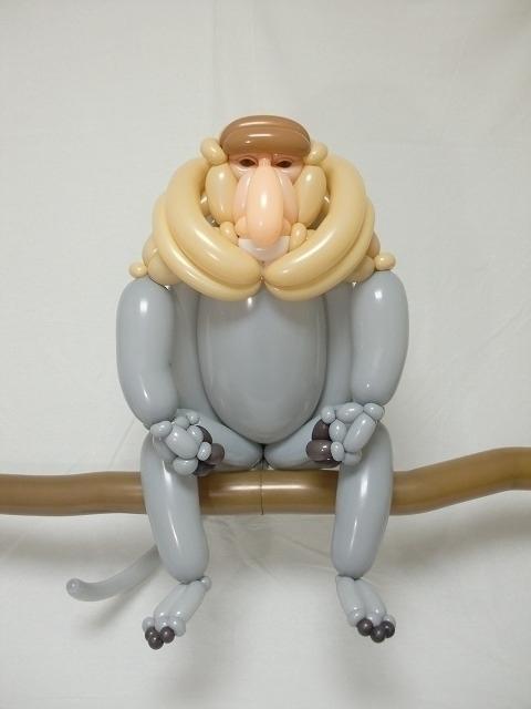 テングザル proboscis monkey - ronbeckdesigns   ello
