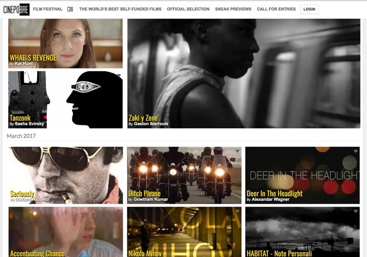 call entries - cinepobre, documentary - cinepobre   ello
