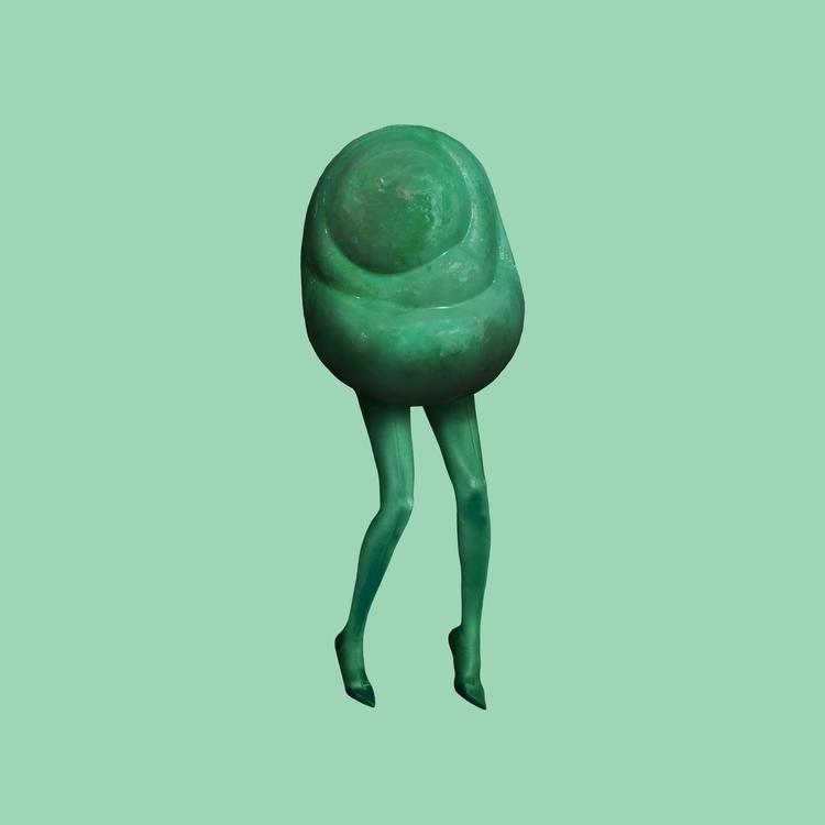 Jelly bean. green. society6 inp - inging | ello
