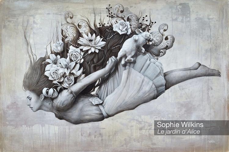 Alice Sophie Wilkins Le jardin - velvetandpurple   ello
