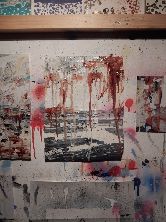 Studio wall - phill_hopkins | ello