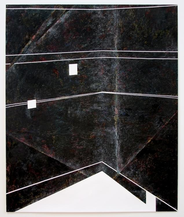 space 41x50 oil stick paper 201 - purplehat | ello