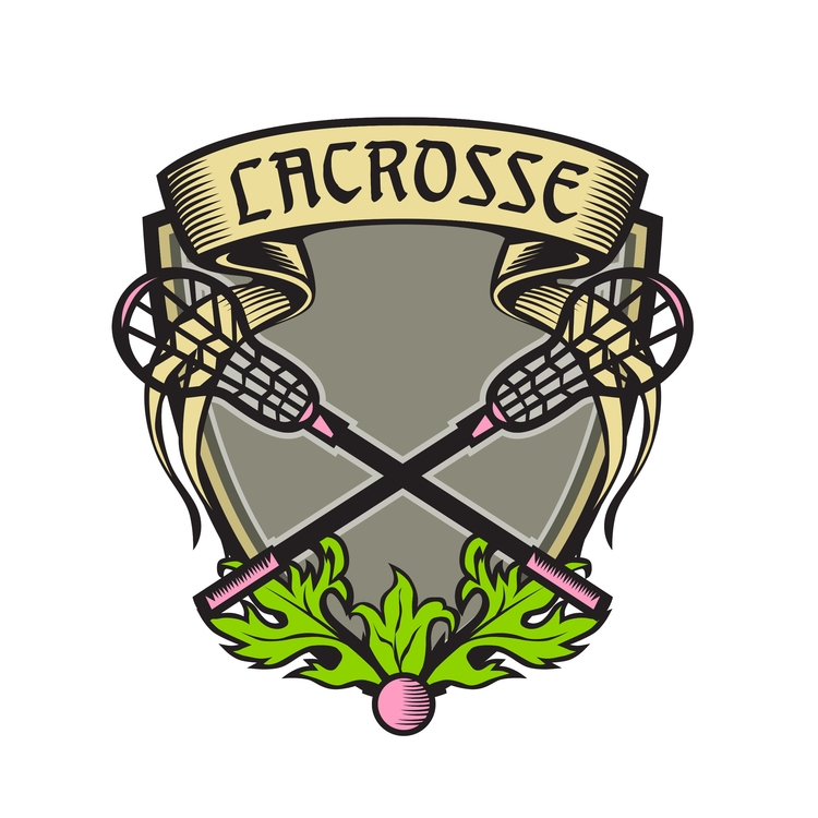 Coat Arms Crest - Crossed, Lacrosse - patrimonio | ello