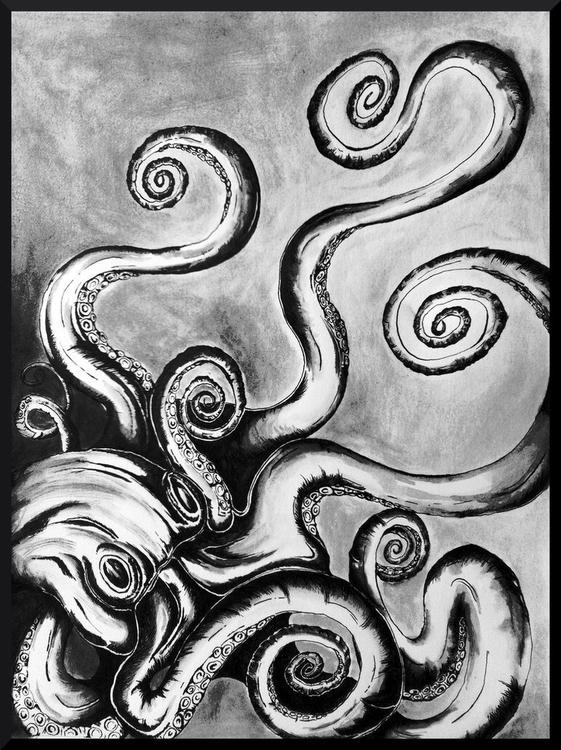 Septipus   Ink 8x10 Christine T - cmtorrez   ello