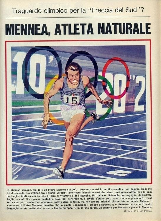 [Mennea, atleta (di Di Gennaro - corrierino | ello