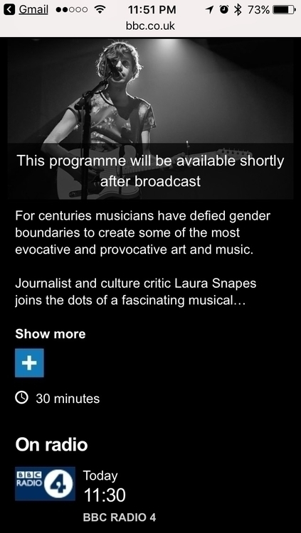 Steve interviewed BBC Radio 4 d - not_weird_queer | ello