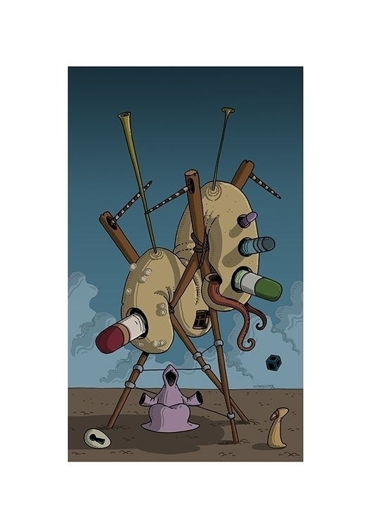 Original art sale  - illustration - jimmy-draws | ello