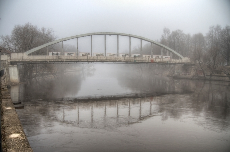 Arched Bridge, Tartu Estonia -  - neilhoward | ello