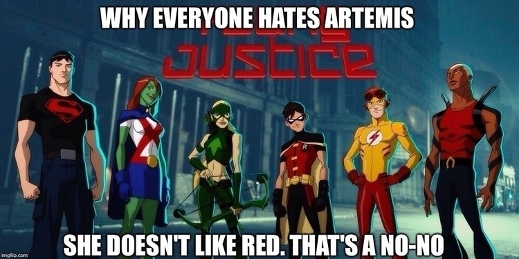 Artemis fine jut meant funny - thebatfamily   ello