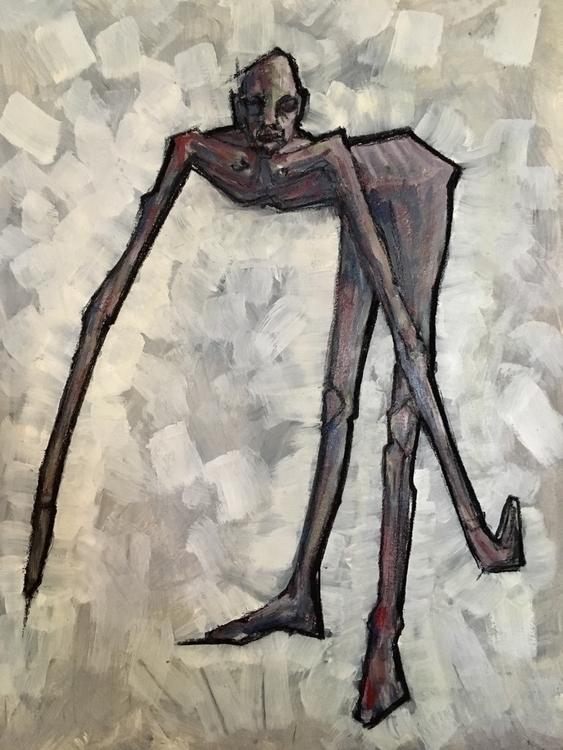 38 cm 52 cm, acrylics paper - art - kriegerispainting | ello