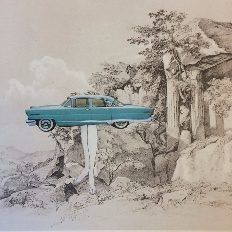 empire series. Ruins 05 - cars, vintagecars - danielletcole | ello