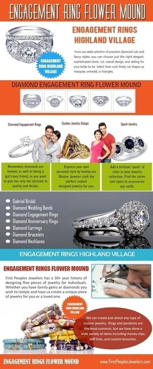 Engagement ring flower mound ch - ringshighlandvillage | ello