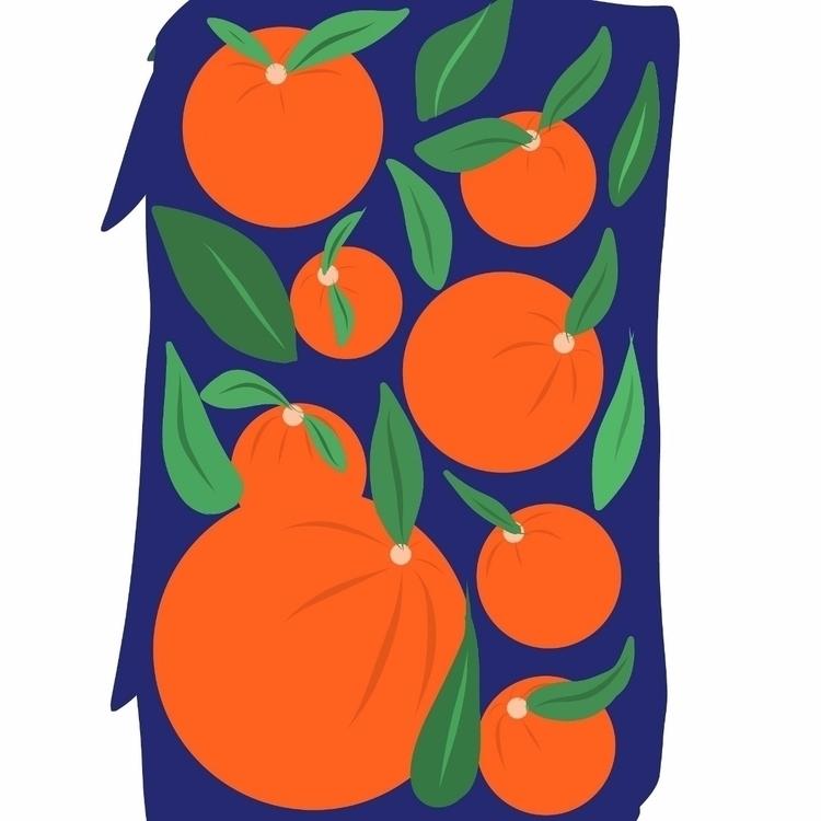 orange, fruit, fresh, plant, green - efstathia_ | ello