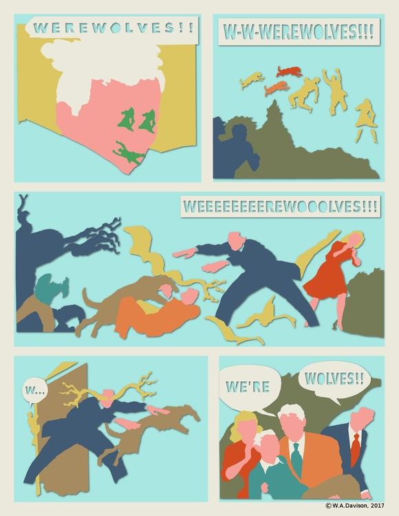 experiments détourned comics. O - w_a_davison | ello