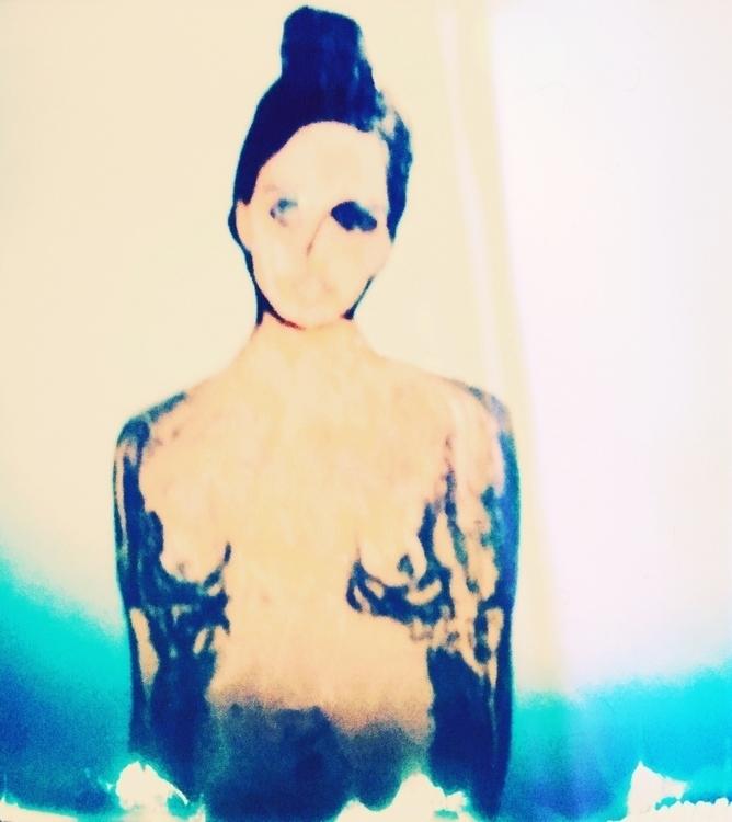 hippie hop, II - polaroid, art, impossibleproject - jkalamarz   ello