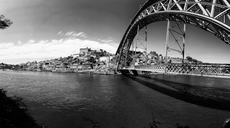 porto, bridge, dive, summer, portugal - dfcf   ello