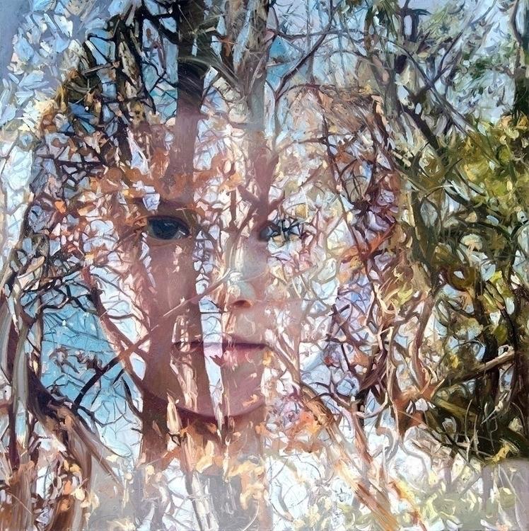 reflection real Painting Alyssa - hellenestelesilla | ello