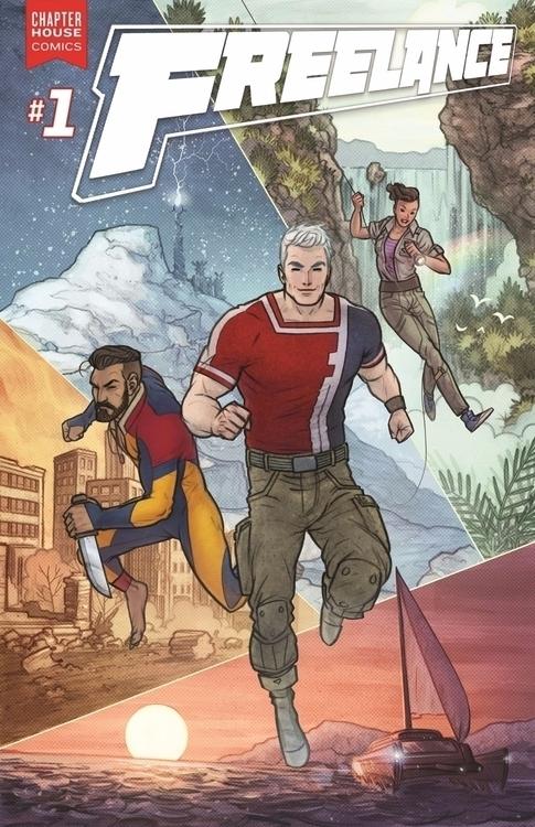 Freelance Chapterhouse Comics 2 - oosteven   ello