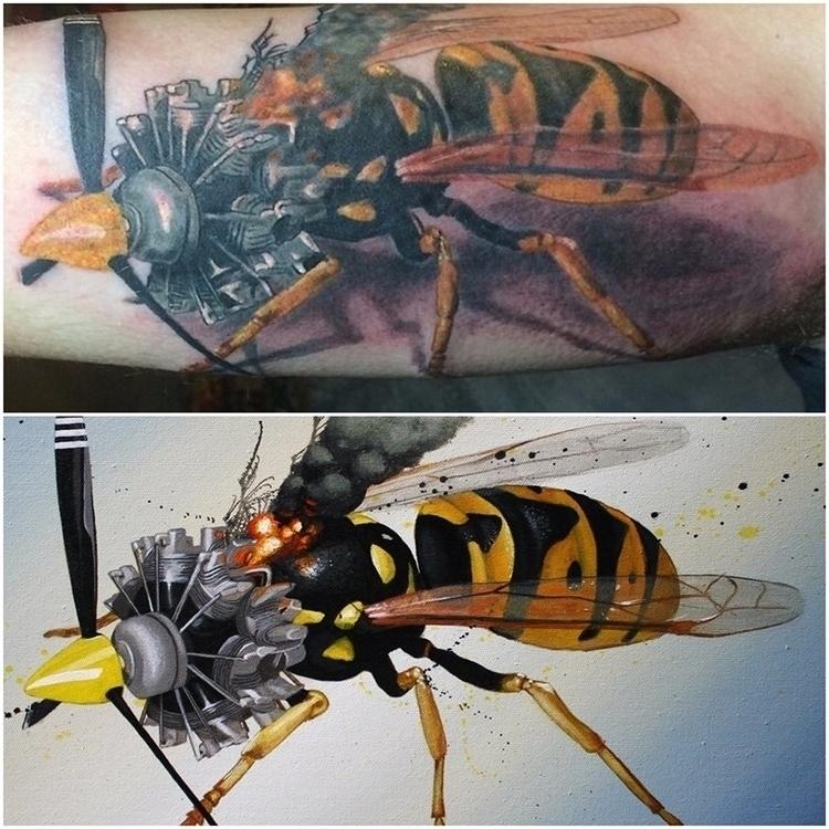 hurt, love Tattoo Sonny Francoe - bowenstuff | ello