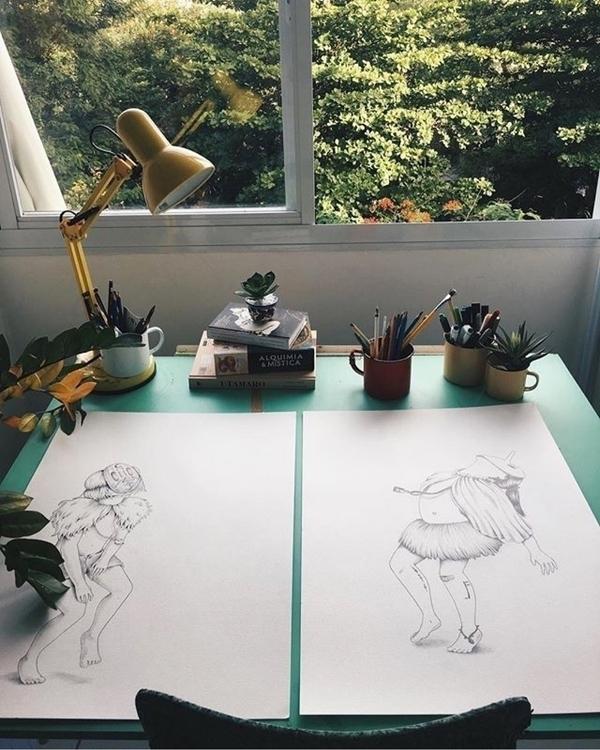 Studio shot Brazilian artist pr - helliongallery | ello