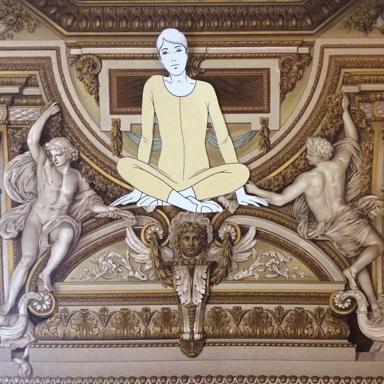 Unglued series. 12 - rome, collage - danielletcole | ello