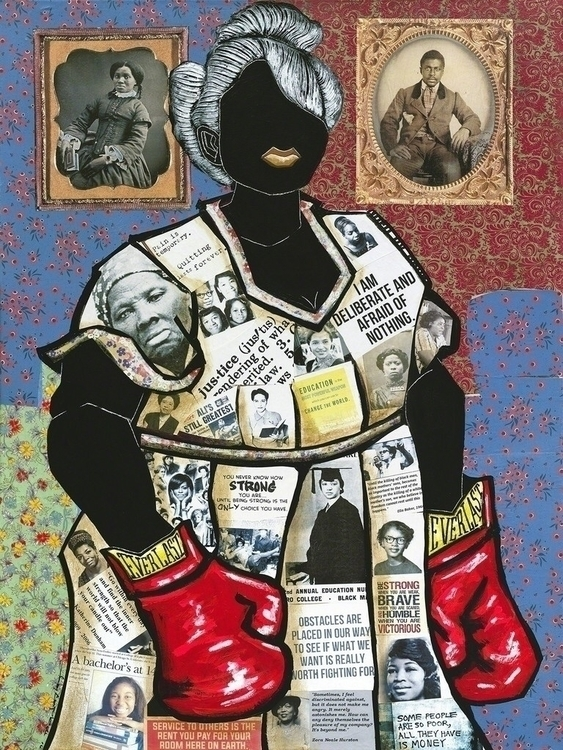 Leroy Campbell Fighting Spirit  - blackartmatters | ello