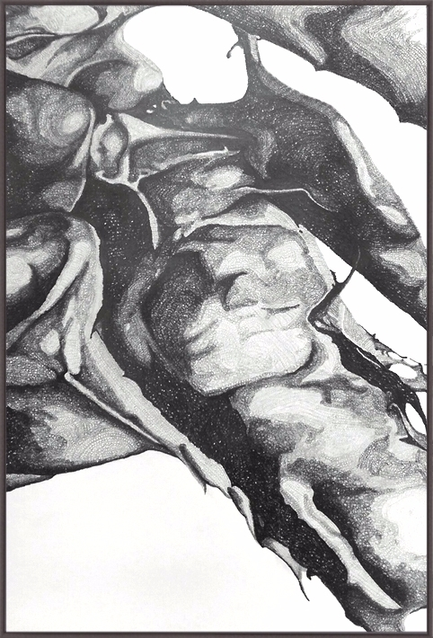 DR_02 drawing 70cm x100cm 2017 - tsaworks | ello