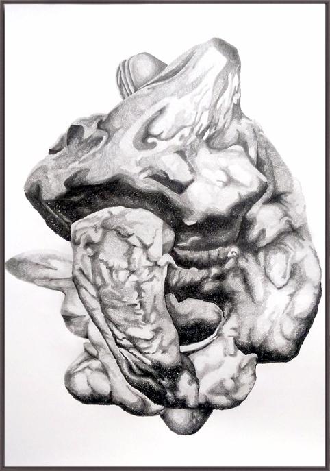 DR_03 drawing 70cm x100cm 2017 - tsaworks | ello