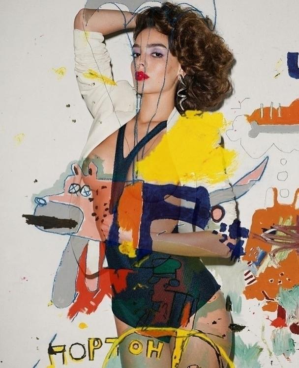 \ Pure art collage illustration - vikipedia | ello