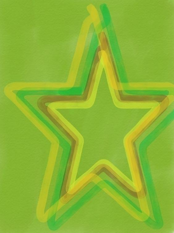 Stars - MakeItonMobile, DigitalArt - lupdre | ello