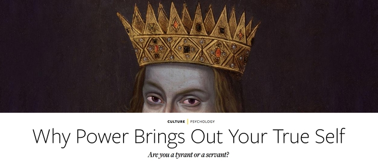 Power Brings True tyrant servan - kambizt | ello