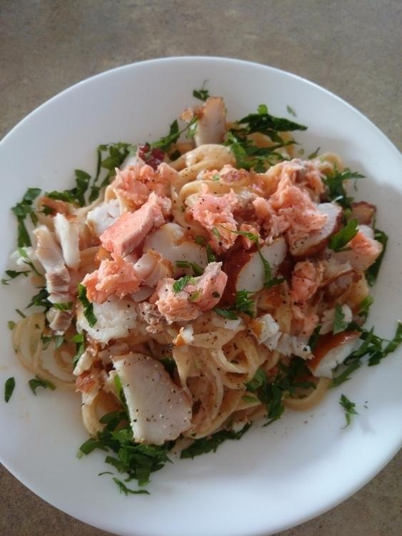 Cooking diary Monday: Fettucine - soonleenz | ello