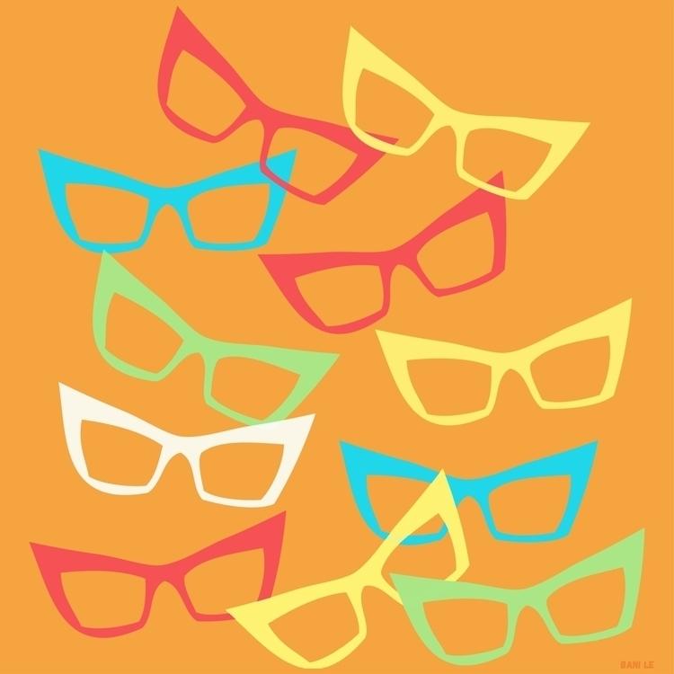 Spectacles create depth texture - littlebunnysunshine | ello