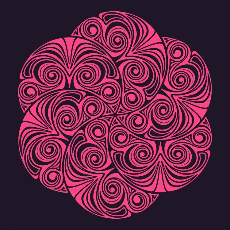 Nº 54 - hexagon, knot, abstract - csilverman   ello
