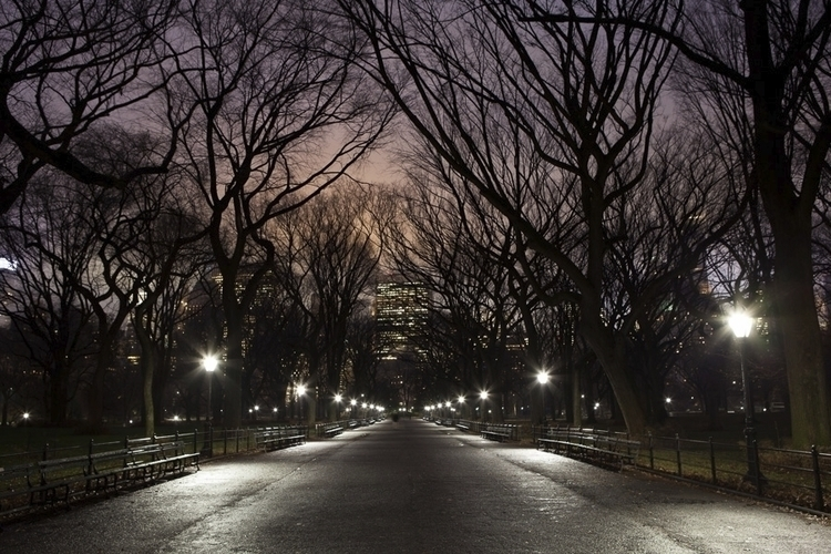 Mall Central Park gorgeous even - jamesmaherphoto | ello